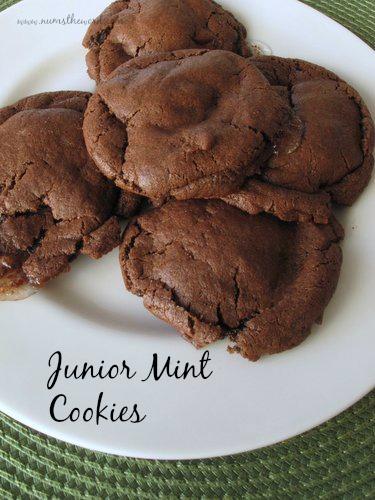 Junior Mint Cookies