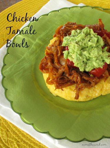 Chicken Tamale Bowls
