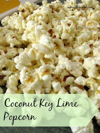 Coconut Key Lime Popcorn