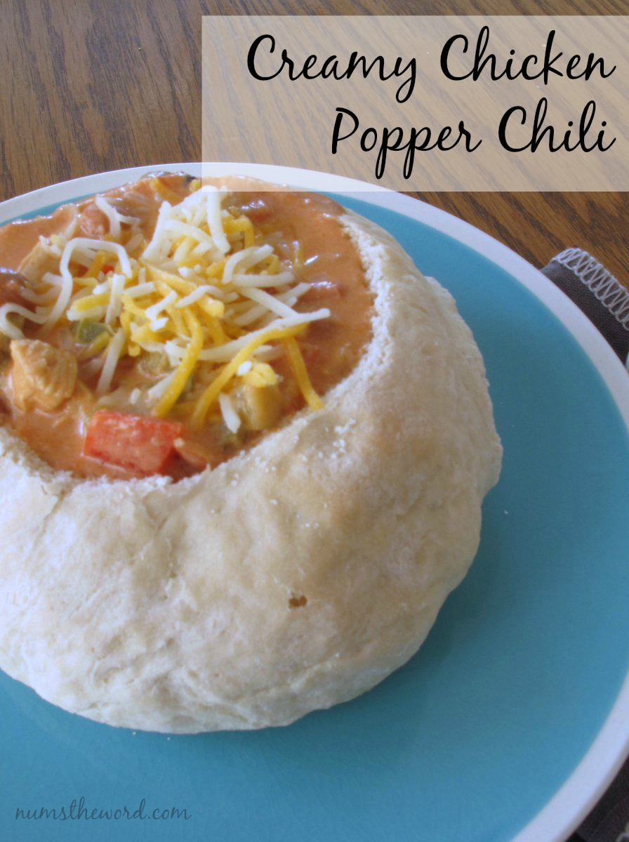 Creamy Chicken Popper Chili