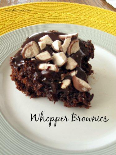 Whopper Brownies