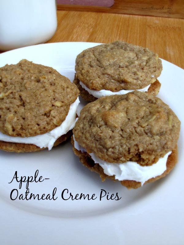 Apple Oatmeal Creme Pies