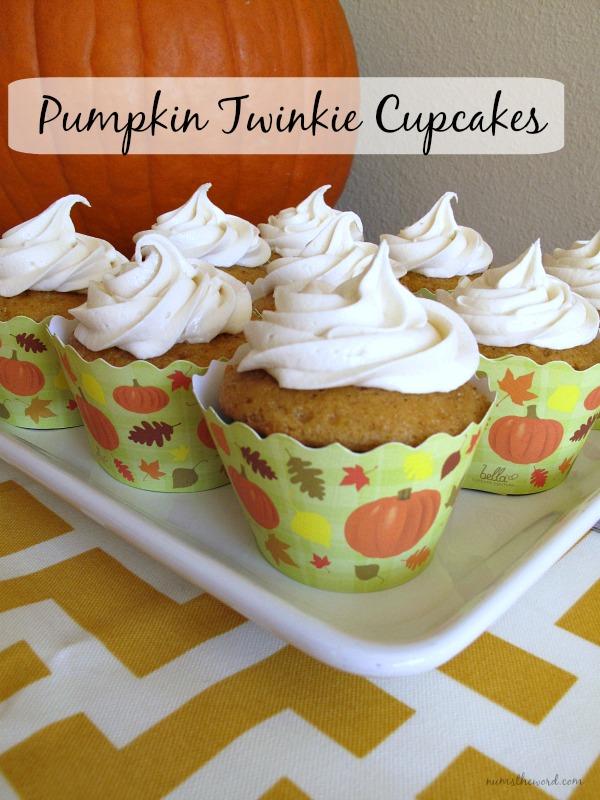 Pumpkin Twinkie Cupcakes