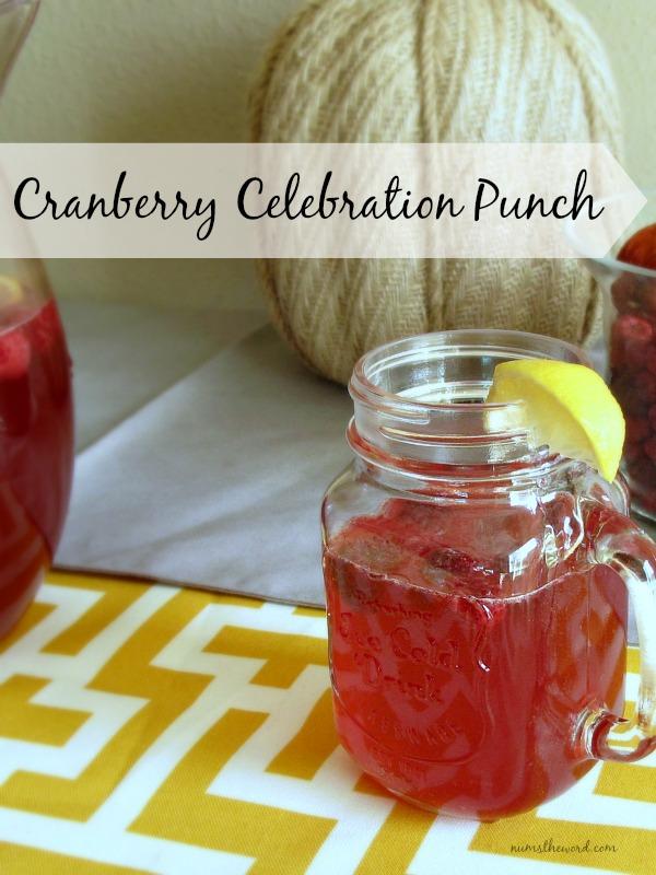 Cranberry Celebration Punch