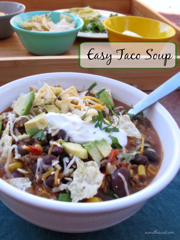Easy Taco Soup