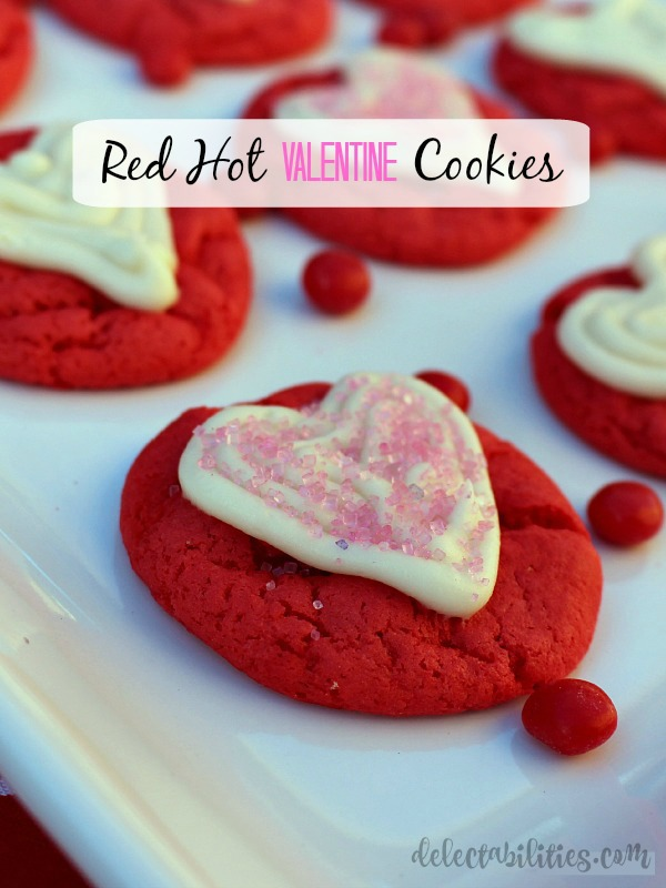 Red Hot Valentine Cookies