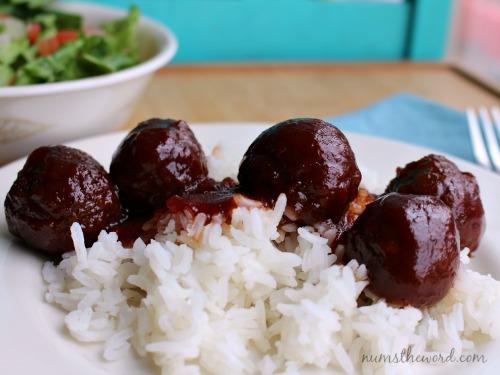 3 Ingredient Crock Pot Meatballs