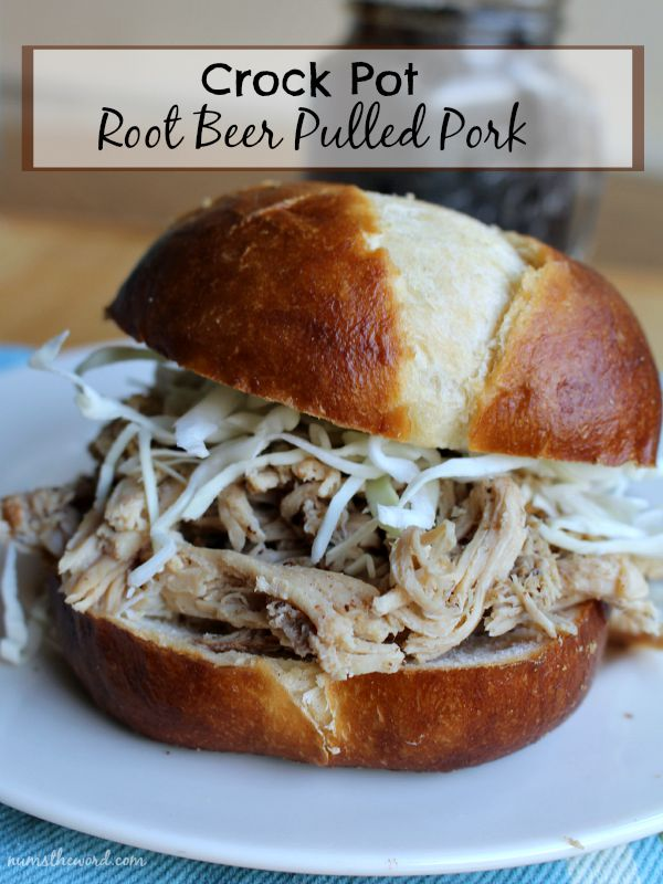 Crock Pot Root Beer Pulled Pork