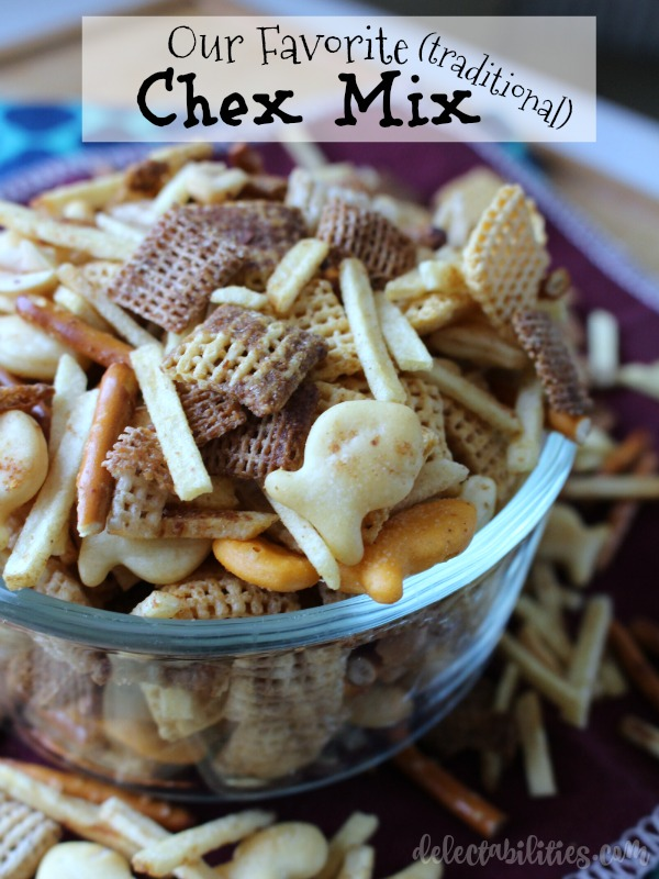 Traditional Chex Mix