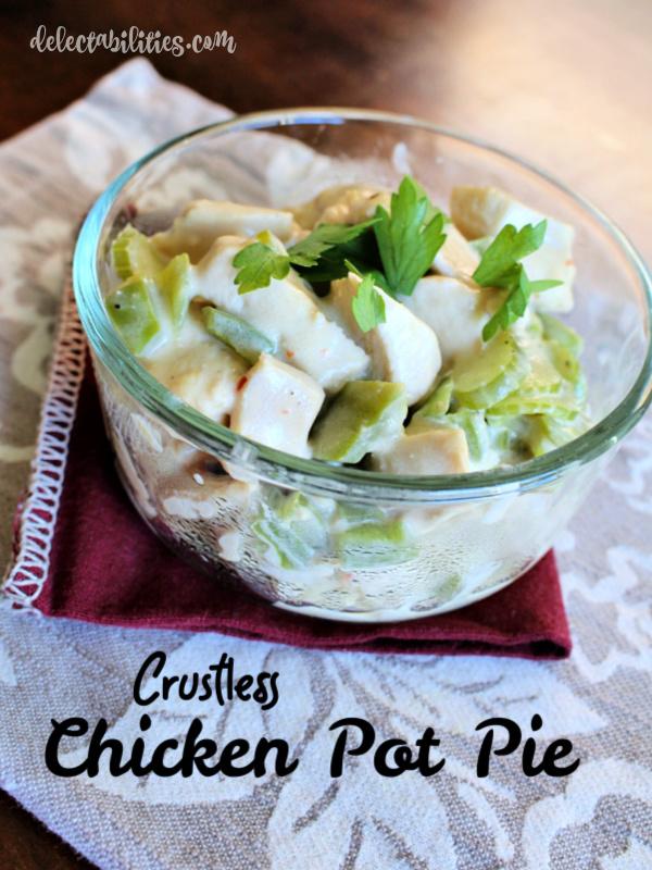Crustless Chicken Pot Pie